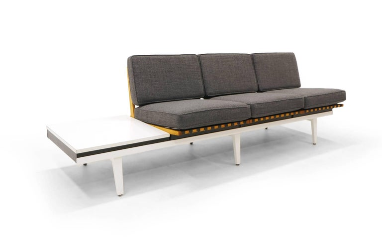 Steel Frame Sofa, Bench and Coffee Table by George Nelson for Herman ...