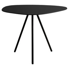 Steel Low Outdoor Pebble End Table by Kenneth Cobonpue