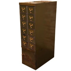 Steel Multi Drawer Army Green Factory Storage Filing Cabinet