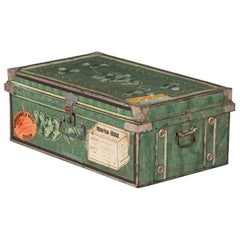 Steel Steamer Trunk by Universal, India, 1950s
