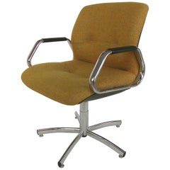 Steelcase Furniture Company Adjustable Swivel and Tilting Armchair, 1982