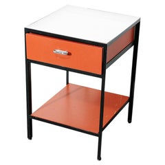 Steel Frame Nightstand by George Nelson