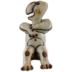 Steen Lykke Madsen for Bing & Grondahl / B & G. Fable Figure in Glazed Stoneware