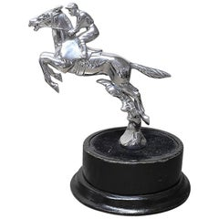 Steeplechaser Mascot by Desmo in Plated Bronze