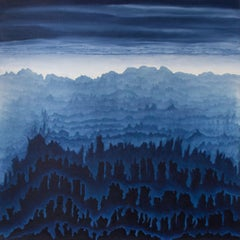 Fading realm, Painting, Acrylic on Canvas