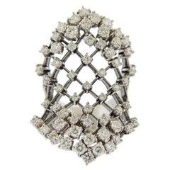 Stefan Hafner Diamond Gold Cocktail Ring