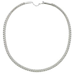 Stefan Hafner Gold Diamond Collar Necklace