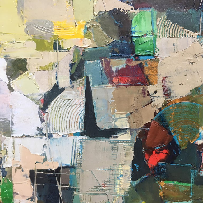 Stefan Lokos Abstract Landscape Painting For Sale 2