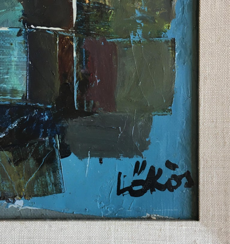 Stefan Lokos Abstract Landscape Painting For Sale 3