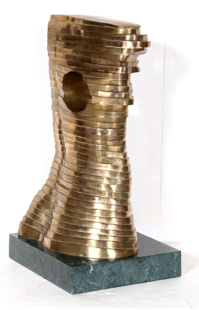 Teutonia, Bronze Sculpture, by Stefan Vladescu 1992 For Sale 1