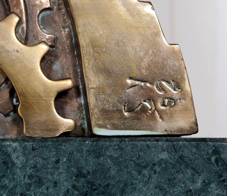 Teutonia, Bronze Sculpture, by Stefan Vladescu 1992 For Sale 5