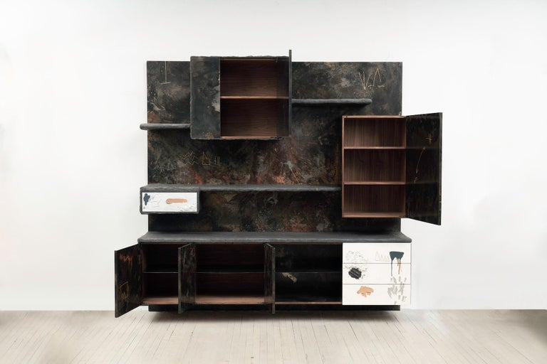 Stefan Rurak, Concrete and Steel Unit for Living, USA In New Condition For Sale In New York, NY