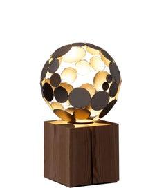 Globe Light - contemporary sculpture small