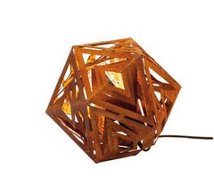 Ikosaeder Lighting - Small Contemporary Indoor and Garden Ornament