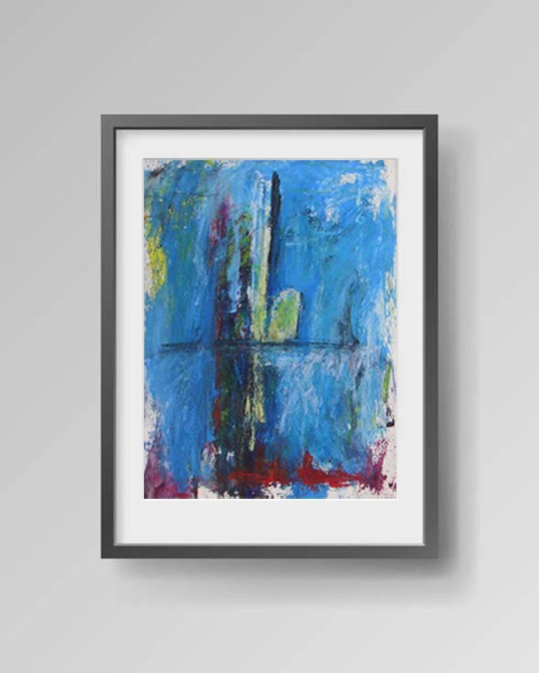 Untitled - Painting by Stefan van Bolderick