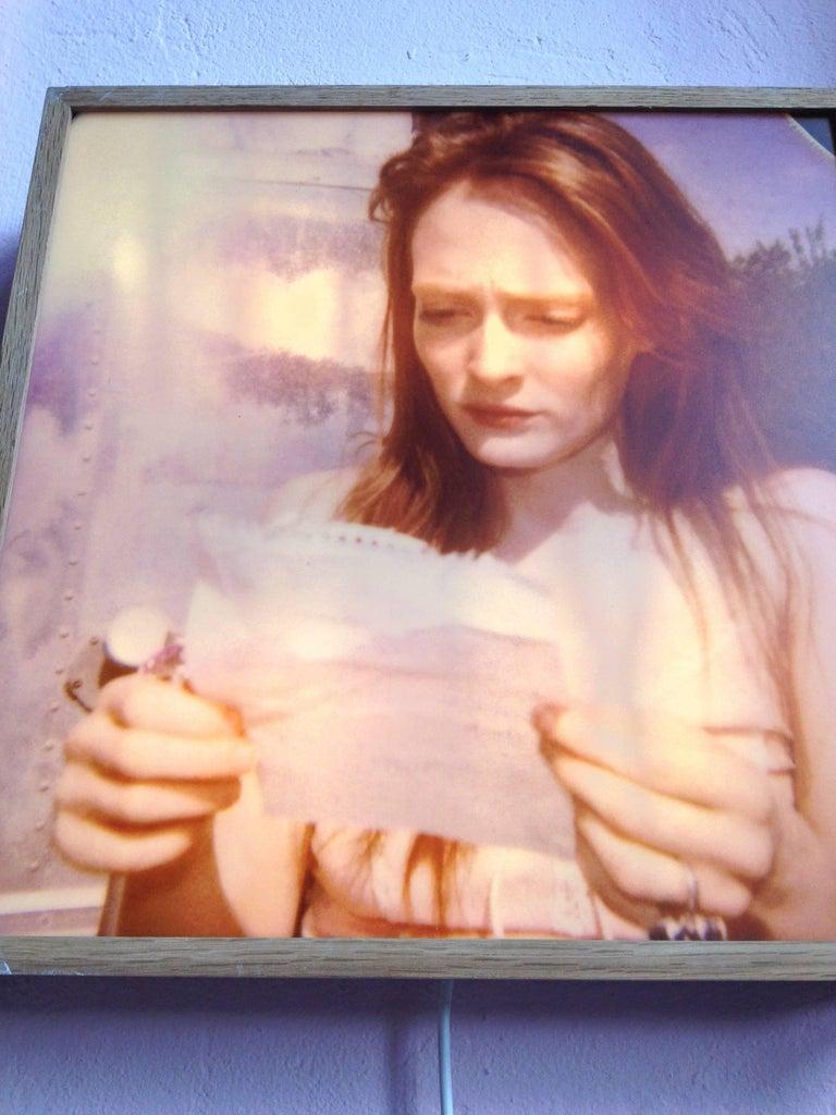 Margarita's Letter - Contemporary, Landscape, Figurative, Polaroid For Sale 2