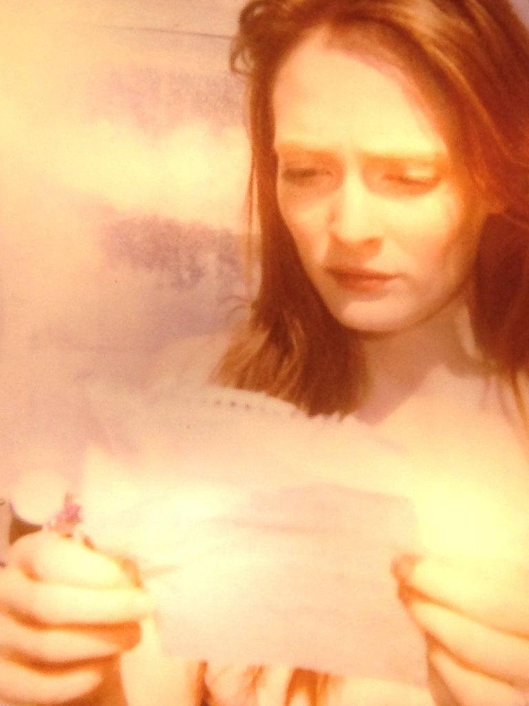 Margarita's Letter - Contemporary, Landscape, Figurative, Polaroid For Sale 3