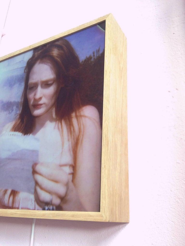 Margarita's Letter - Contemporary, Landscape, Figurative, Polaroid For Sale 5