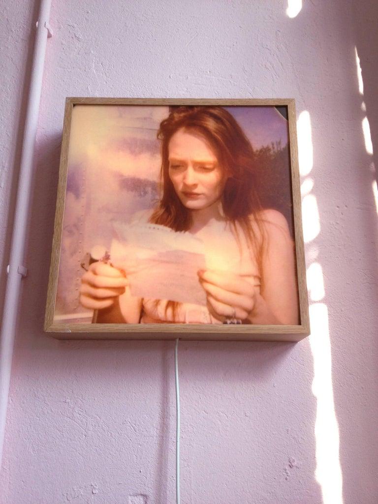 Margarita's Letter - Contemporary, Landscape, Figurative, Polaroid For Sale 8