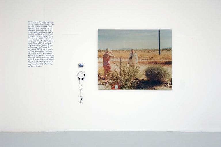 Wonder Valley (29 Palms, CA) - analog, mounted, installation, music, video, text - Photograph by Stefanie Schneider
