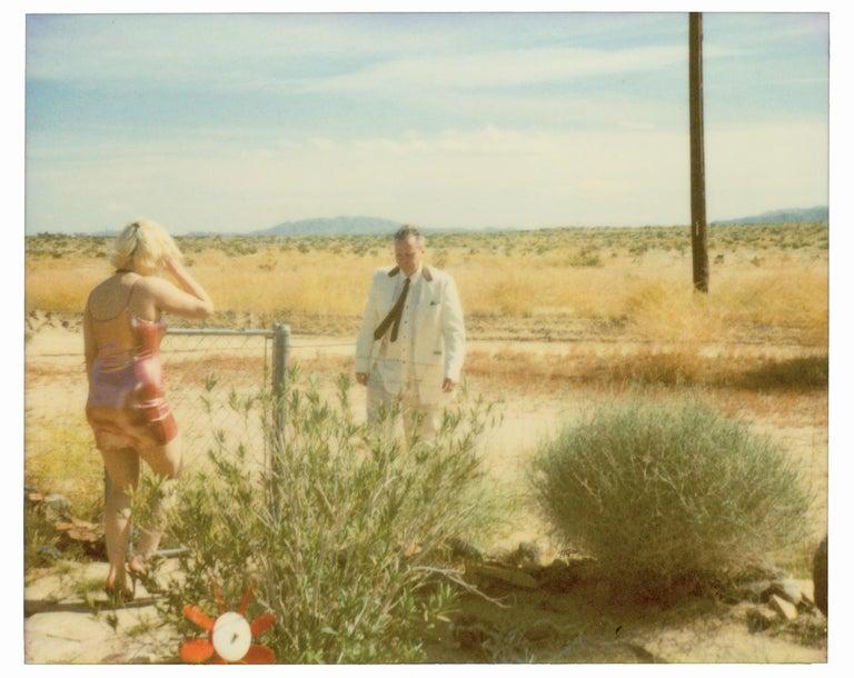 Stefanie Schneider Landscape Photograph - Wonder Valley (29 Palms, CA) - analog, mounted, installation, music, video, text