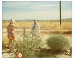 Wonder Valley (29 Palms, CA) - analog, mounted, installation, music, video, text