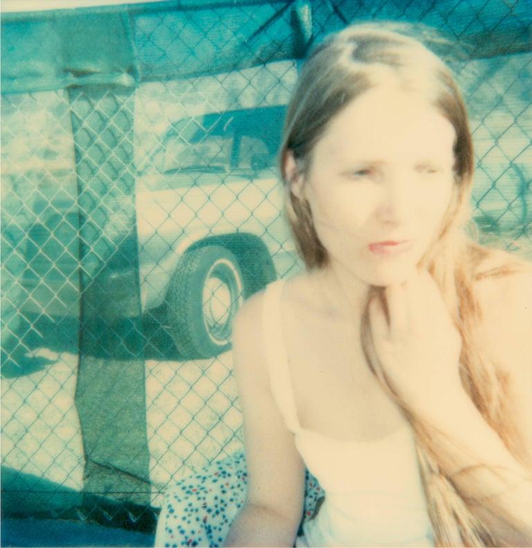 Stefanie Schneider Color Photograph - 29 Day Dreams - 29 Palms, CA, analog hand-print, 58x56cm, 21st Century, Polaroid