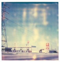 4 Corners I (Last Picture Show) - Contempoary, 21st Century, Polaroid, Color