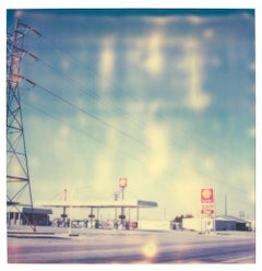 4 Corners - (Last Picture Show) - Contemporary, 21st Century, Polaroid, Color