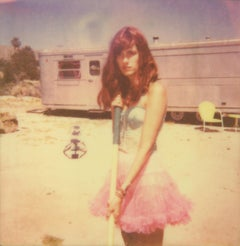 A lonely and deserted Place - The Girl behind the White Picket Fence, Polaroid