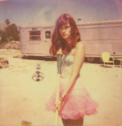 A lonely and deserted Place (The Girl behind the White Picket Fence) - Polaroid