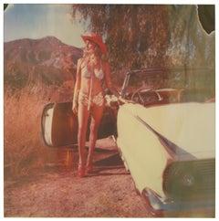 A Princess' Life - Polaroid, Contemporary, Portrait, Color, 21st Century, Color