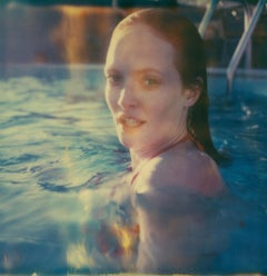 Above Water (Till Death do us Part) Contemporary, Woman, Polaroid