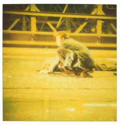 Accident II - (Stay), analog, 128x125cm, featuring Ewan McGregor