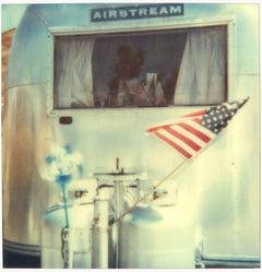 Airstream (29 Palms, CA) - 58x56cm, analog, Polaroid, Contemporary, 20th Century