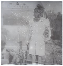 Alphabet Soup - 21st Century, Polaroid, Women, Photography, Contemporary