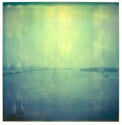 Ancient Bridge Views - Contemporary, 21st Century, Polaroid, Landscape Photo
