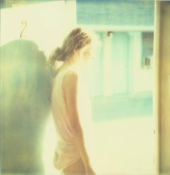 Angel Wing- Contemporary, Figurative, Polaroid, Expired, 21stCentury, Color
