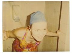 Angie (Suburbia) - Contemporary, Polaroid, Analog, Color, Photography, Portrait