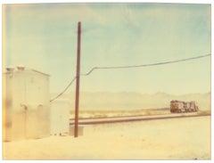 Approaching Train - Wastelands, analog 42 x 59cm