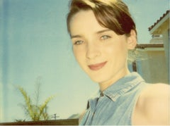 April blue Eyes - Suburbia - Contemporary, Polaroid, Analog, Color, Photography