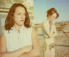 Are you gonna leave me? - Contemporary, 21st Century, Polaroid, Figurative