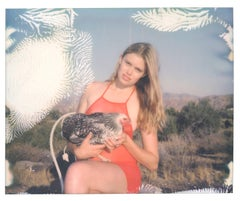 Aria and Midnight  - Chicks and Chicks project, Contemporary, Polaroid, Photo