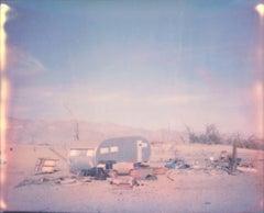 Badlands - Contemporary, Polaroid, Landscape, Photograph,