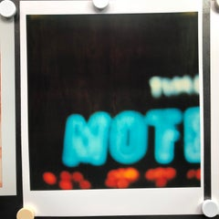 'Bates Motel' part 2 - Contemporary, Neon, Urban, expired, Polaroid, analog