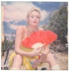 Big Girls don't Cry (Heavenly Falls) - Polaroid, Contemporary