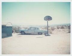 Blue Cadillac (29 Palms, CA) - Polaroid, Cadillac, Vintage, 20th Century, Color