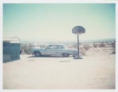 Blue Cadillac (29 Palms, CA) - Polaroid, Cadillac, Vintage, 20th Century, Color