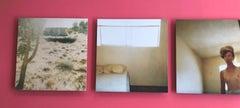 Blue House (29 Palms, CA), triptych