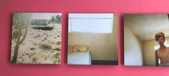 Blue House - Contemporary, 21st Century, Polaroid, Figurative Photography, Nude